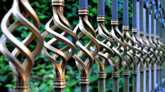 A decorative fence that has been created by our team